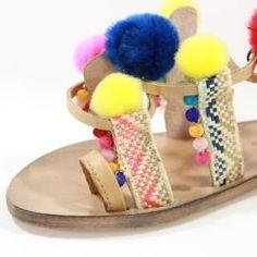 Sandalo pelle donna