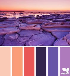 orange purple sunset color combination, color palettes, color scheme, color inspiration, visual communication.