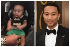 John Legend has a tiny doppelganger!! Posted to Instagram by the aunt of the adorable tyke, set the internet on fire especially wife Chrissy Teigen