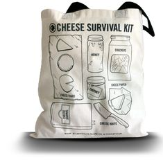 Cheese survival kit haha.. but check out the site http://www.cheesesurvivalkit.com/ it's much cuter