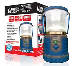 Tough Light LED Rechargeable Lantern  200 Hours of Light From a Single Charge Longest Lasting on Amazon Camping and Emergency Light with Phone Charger  2 Year Warranty Blue ** Be sure to check out this awesome product. Note:It is Affiliate Link to Amazon.
