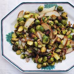 Roasted Brussels Sprouts & Pears...Easy recipe!