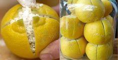 Üzerine Tuz Serpilmiş Limonu Odada Bekletin, Hayatınız değişecek..   Bilgi Doktoru