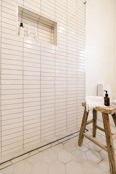 Could I Have That Master Bathroom Fireclay Tile