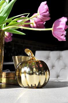 gold-glass-pumpkin-i