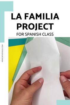 Family words are one of those things everyone has to cover, whether you teach with a textbook or not. Here's a quick idea for practicing la familia vocabulary! Check out this FREE download for a final project, test, assessment, or just a review of family vocabulary for your unit! Spanish Classroom, Teaching Spanish, Sentence Prompts, Middle School Spanish, Spanish Lesson Plans, Spanish 1, Personal History, Class Activities, Printed Pages