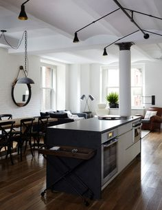 4afc7b5260f open loft kitchen design by Schappacher White Kitchen New York