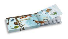 Sněhulák #ilustration #ilustrace #ChewingGums #žvýkačky #CharityGums #sněhulak #snowman