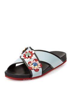 599ab7977f8f Women s Flat Sandals at Neiman Marcus