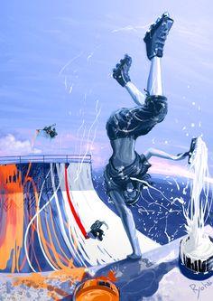 Roller Painter  by Ryohei Yamashita