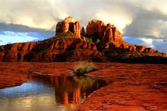 Red rocks in Sedona, Arizona by jnaumer