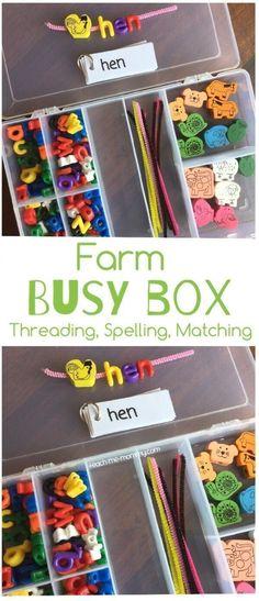 Farm Busy Box