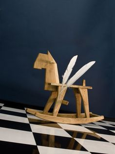 Bo Reudler Studio - Product and Interior Design rocking horse
