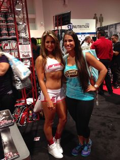 With Angelica Gonzalez at the ProSupps booth :) #coconutter #vegas #mrolympia #mrolympia2014 #olympia #50tholympia #athlete #bodybuildingcom #bodybuilding #coconutbutter #sweetspreads #sweetspreadscoconutter