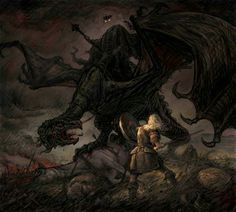 The end of the Witch King of Angmar