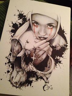 Skull illustrations by Jacob Pedersen