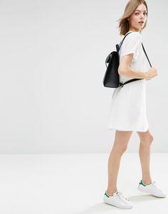 Image 4 ofASOS Sheer Shift Dress