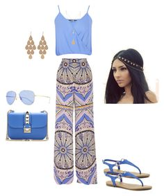 """""""Untitled #1435"""" by stephstyle76 ❤ liked on Polyvore featuring moda, Emilio Pucci, Miss Selfridge, Valentino, ANNA, Irene Neuwirth y Gucci"""