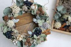 木の実とドライフラワーリースのワークショップ リース wreath dryflower driedflower ドライフラワー |FLEURI blog