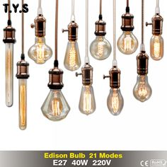 Cheap Incandescent Bulbs, Buy Directly from China Suppliers:Retro Lamp Vintage Edison Bulb Incandescent Bulb Holiday Lights Filament Lamp Lampada For Home Decor Landscaping Melbourne, Retro Lamp, Incandescent Bulbs, Edison Bulbs, Holiday Lights, Amazing Gardens, Solar Panels, Light Bulb, Interior Decorating