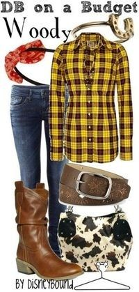 DisneyBound on a budget Toy Story, Woody