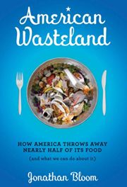 Jonathan Bloom's book chronicles how #wasted food in America accounts for nearly half the food produced.  Well researched, Jonathan's timing was impeccable to bring a staggering fact to public attention:  There is not a food shortage, there are food waste and distribution issues.