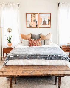Room Ideas Bedroom, Home Decor Bedroom, Bedroom Inspo, Bedroom Furniture, Master Bedroom, Furniture Design, Aesthetic Bedroom, Dream Rooms, My New Room