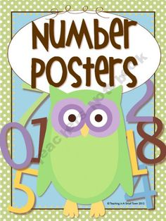 3 different sets of owl/polka dot number posters to hang in the classroom! Owl Theme Classroom, Preschool Classroom, Kindergarten Math, Classroom Ideas, Polka Dot Theme, Teaching Activities, Number Activities, Teacher Notebook, Beginning Of School