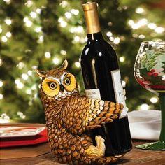 Znalezione obrazy dla zapytania wine rack owl