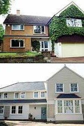 68 best back to front before after remodelling projects images house exterior design house for Exterior house painting liverpool