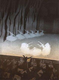 zombienormal:  Russian Ballet, Walter Schnackenberg, Die Kunst für Alle, 1912-13. Via.