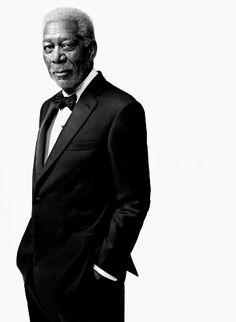 A world class outfit for a world class actor. Best voice in Hollywood without a doubt, Mr. Morgan Freeman.