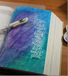 My Weekly Bible Journaling #26– Finishing up 2nd Samuel | Paulette's Papers