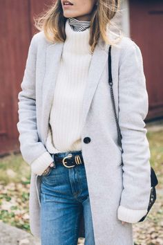Fall Layers - Grey W
