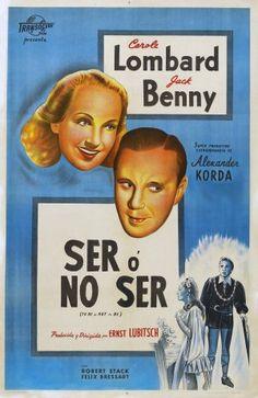 Ser o no ser (1942) EEUU. Dir: Ernst Lubitsch. Comedia. Sátira. Dereito. II Guerra Mundial - DVD CINE 36 e DVD CINE 2258