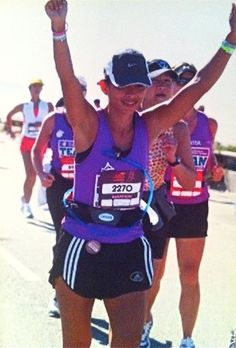 """I'm raising funds for Team In Training, The Leukemia & Lymphoma Society. I'm training for my first ULTRA marathon. Please click on my photo and read about the """"whats"""" & the """"whys"""" of trying to make a difference. If possible.. please consider making a tax deductible donation. Together we can change the world."""