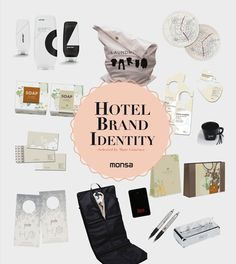 Hotel Brand Identity book by Monsa Publications