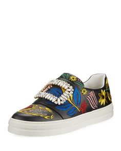DOLCE & GABBANA SNEAKERS PORTOFINO WITH PATCH. #dolcegabbana
