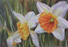 Daffodils by Doris Joa