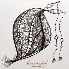 dangle seed, Alice Hendon, The Creator's Leaf, www.thecreatorsleaf.com