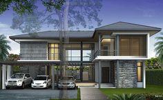 บริษัทรับสร้างบ้าน เน้นดีไซน์ สร้างบ้านสไตล์ BLACK BEAM รับออกแบบบ้าน แบบบ้านสไตล์ MODERN