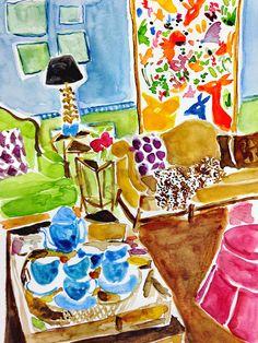Painting Prints, Art Prints, Paintings, Cottage Art, A Level Art, Art For Art Sake, Pretty Art, Painting Inspiration, Art Boards