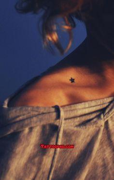 star tattoos, tattoo patterns and collar bones. #tattoo #tattoos #ink