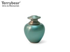 Terrybear Satori Ocean Keepsake. This Keepsake can hold a small amount of cremated remains.