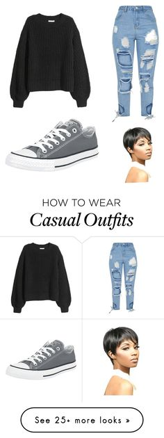 """Casual Attire"" by itsprobablygrace on Polyvore featuring WithChic"