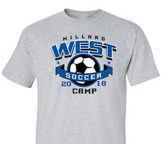 1120a26fd High School Impressions Custom Soccer Team T Shirts - Create your own  design for t-shirts, hoodies, sweatshirts. Choose your Text, Ink and  Garment Colors ...