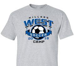 5542939cc38 High School Impressions SOC-043-w Custom Soccer Team T Shirts - Create your