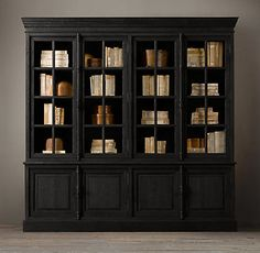 RH's French Casement Sideboard & Hutch:Panel doors and fine crown molding give our solid wood collection the gravitas of classic French furniture. Side Board, Country Furniture, French Furniture, Modern Furniture, Furniture Design, Wood Shelves, Shelving, Reforma Exterior, Restauration Hardware