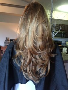 sombre with faded ombre. perfect long layered c Feathered Hairstyles, Pretty Hairstyles, Easy Hairstyles, Straight Hairstyles, Long Layered Hair, Long Hair Cuts, Long Hair Styles, Light Hair, Dark Hair