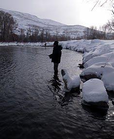 Provo River Winter